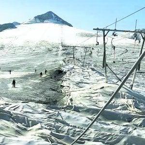 Allo Stelvio c'era una volta lo sci d'estate: la resa dell'ultimo ghiacciaio