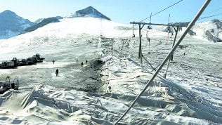 Stelvio, lo sci estivo è sparito la resa dell'ultimo ghiacciaio