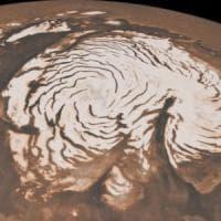 Anche su Marte nevica: così la notte porta le tempeste