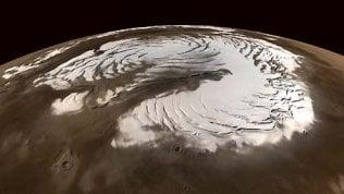 Neve su Marte? Così la notte porta la tempesta perfetta