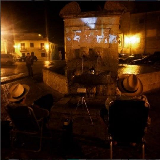 Turisti giapponesi a Palermo per vedere Nuovo Cinema Paradiso in piazza
