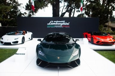 "Lamborghini ""Ad Personam for Pebble Beach"", show di pezzi unici"
