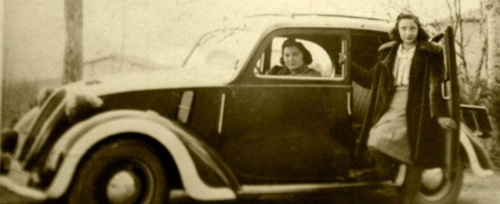 La ragazza col golfino rosso e i partigiani. La storia della prima donna tassista in Italia