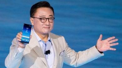 Performante e sicuro, Samsung  svela il nuovo Galaxy Note 8   ·foto