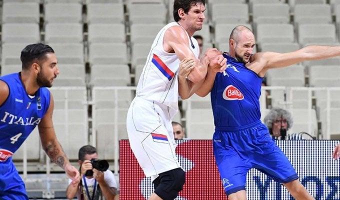 """Basket, Torneo Acropolis: Italia ko con la Serbia. Messina: """"Ma ho visto passi avanti"""""""