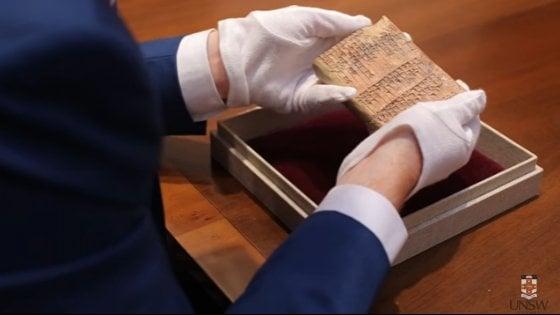 Svelato il mistero della tavoletta sumera: furono i babilonesi a inventare la trigonometria