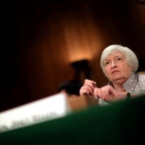 """Draghi: """"No al protezionismo"""". Asse con Yellen"""