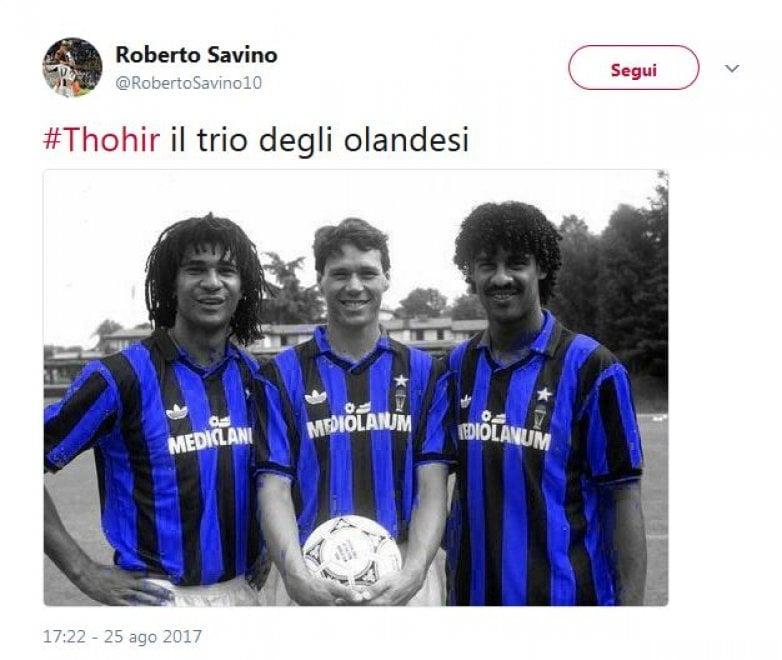 Inter, Thohir e i tre olandesi: l'ironia social