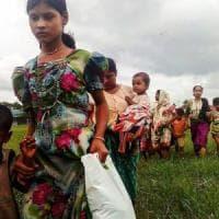 Myanmar: esercito fa fuoco con mortai contro civili Rohingya in fuga
