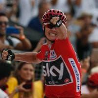 Ciclismo, Vuelta: Froome vince in salita, è sempre più maglia rossa