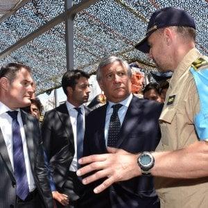 """Antonio Tajani: """"Per Tripoli 6 miliardi di aiuti come quelli concessi alla Turchia"""""""