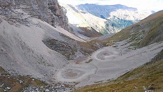 """Marche: scomparso Pilato, il """"lago con gli occhiali"""" dei Monti Sibillini"""