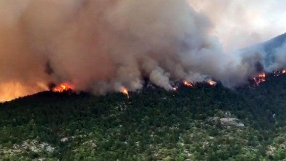Incendio al parco della Maiella, da dieci giorni in fiamme i monti dove visse Celestino V