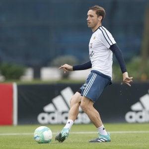Milan, Biglia si 'allena' con l'Argentina. André Silva nazionale triste