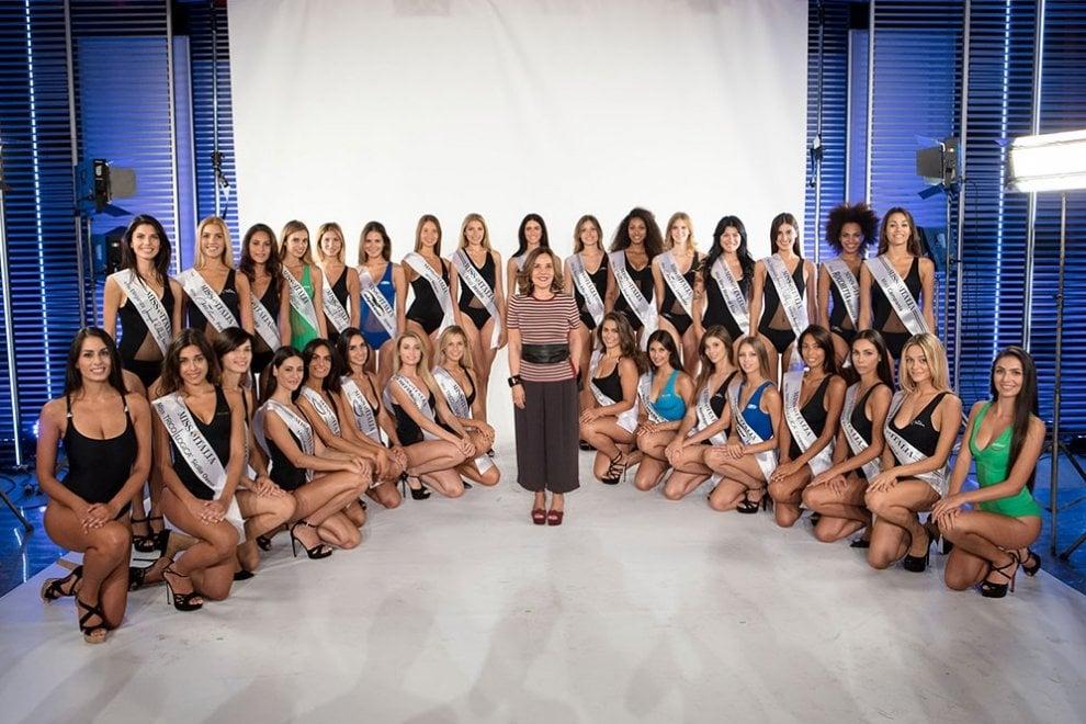 Miss Italia 2017, le 30 finaliste del concorso