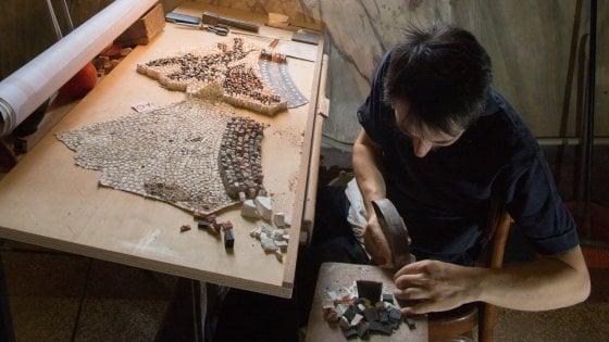 A San Marco per i mosaici ci vuole orecchio