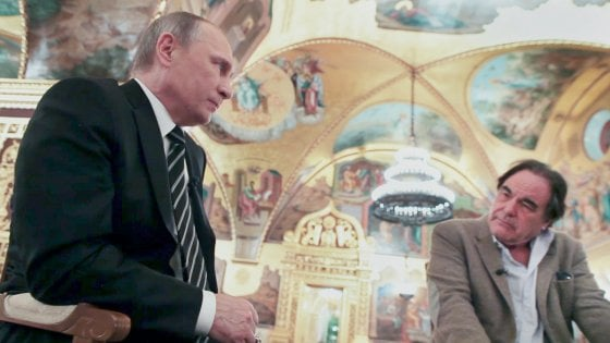 Oliver Stone: «Vi spiego perché Putin è un grande»