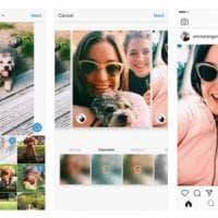 Instagram: negli album ora anche ritratti o panorami nei post multipli