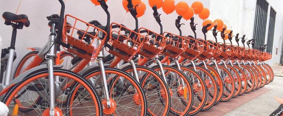 Il Bike sharing più grande del mondo sbarca in Italia