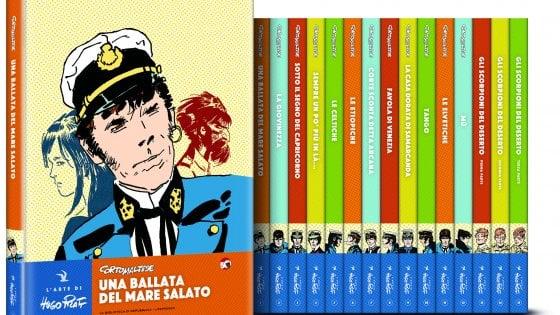 """L'arte di Hugo Pratt. Non solo Corto Maltese: in viaggio con """"Repubblica"""" alla ricerca di tutti i mari navigati con la fantasia"""