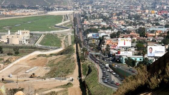"""Usa-Messico, scelte le 4 imprese per costruire il muro. Ordinati i prototipi: saranno """"anti-scalata"""""""