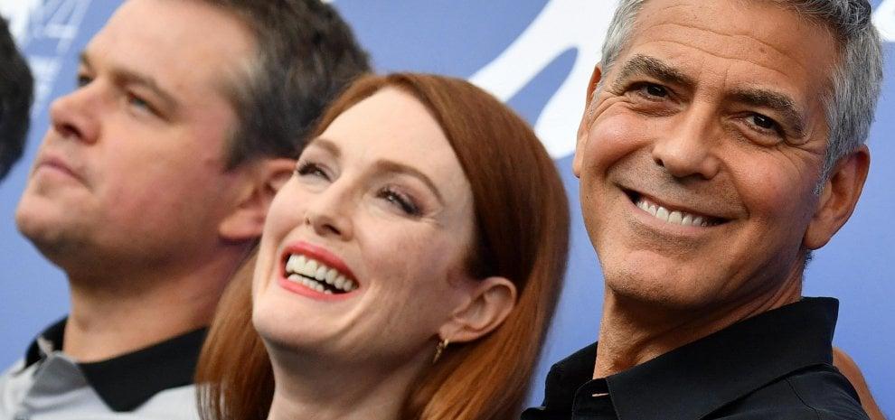 """George Clooney: """"L'America non è mai stata così arrabbiata"""""""