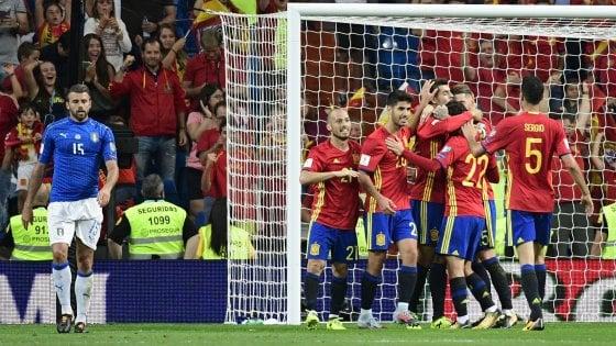 Nazionale, Spagna-Italia 3-0: azzurri verso gli spareggi