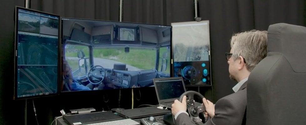 Il camion come un drone: si guida da remoto