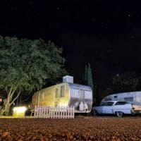 Arizona. Il camping diventa resort: i cabins sono caravan anni '50, per atmosfere alla Kerouac
