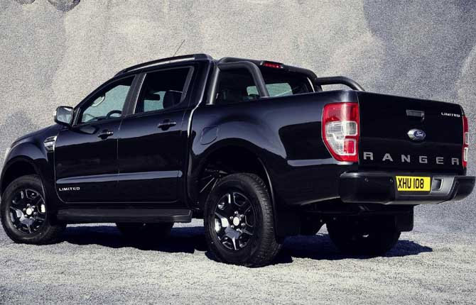 Ranger Black Edition, il lato dark del pick-up Ford