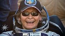 Tornata Peggy Whitson, l'astronauta dei record