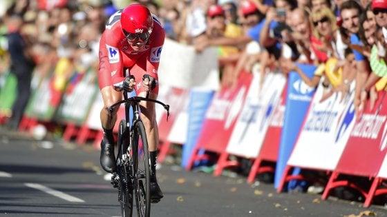 Ciclismo, Vuelta: Froome vince la crono, ma Nibali tiene i giochi aperti