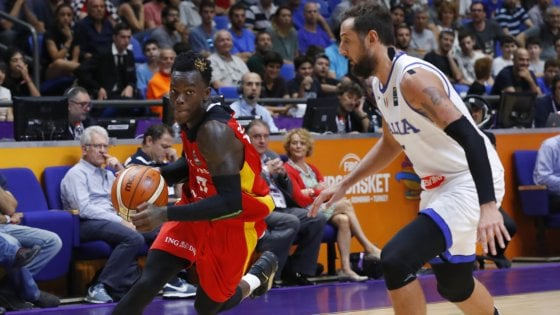 Basket, Europei: Italia sconfitta dalla Germania, ma azzurri