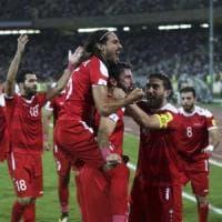 Mondiali 2018, la Siria conquista lo spareggio al 93'. Niente da fare per la Cina