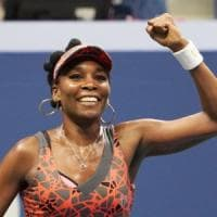 US Open: intramontabile Venus, a 37 anni in semifinale con la connazionale Stephens