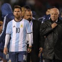 Mondiali 2018: Argentina bloccata dal Venezuela, ora rischia. Altro ko per il Cile
