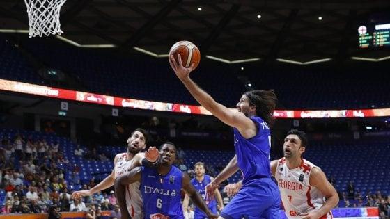 Basket, Europei: Italia batte Georgia all'ultimo respiro, agli ottavi contro la Finlandia