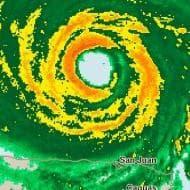 Il percorso dell'uragano Irma