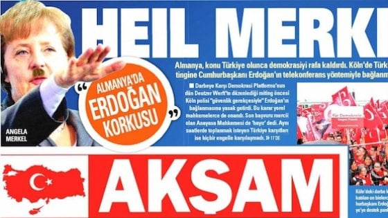 Francia e Germania contro la Turchia nell'Unione: l'ira di Ankara