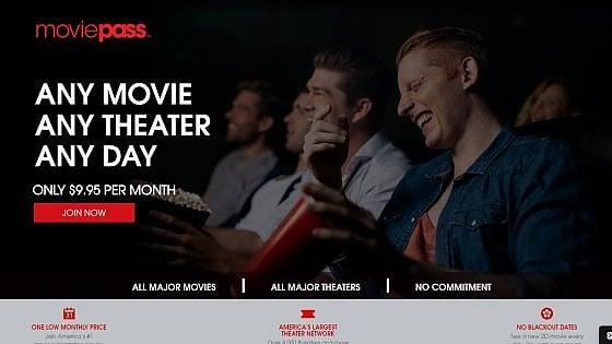 """Moviepass: """"La nostra app per abbonarsi al cinema ha già 300mila iscritti"""""""
