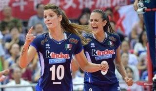 Volley, Europei; Mazzanti sceglie le 14 azzurre. ''Vogliamo stupire e stupirci''