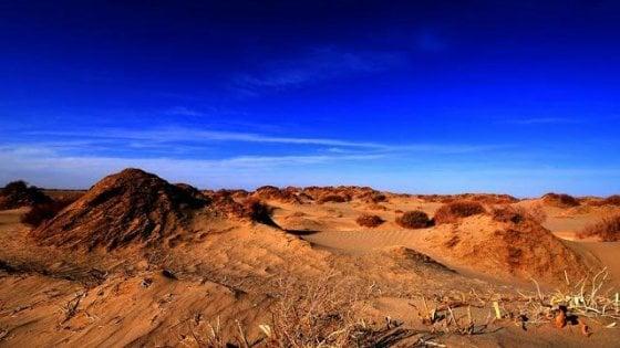 Marte? E' in Cina, nel deserto. In una zona molto simile al pianeta Rosso, presto un parco a tema