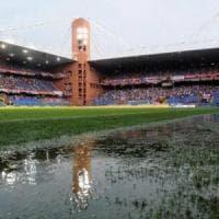 Roma, allerta meteo a Genova: rinviata la partita con la Samp