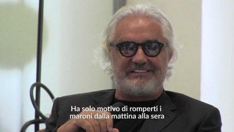 """La donna secondo Briatore: """"Lavori, sennò rompe i maroni"""""""