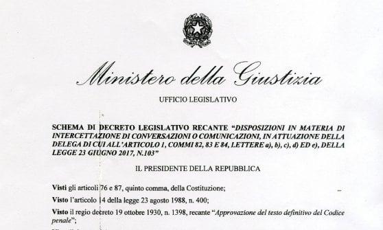 """Intercettazioni, retromarcia del ministro: """"Discuteremo e cambieremo: via il divieto di frasi integrali"""""""