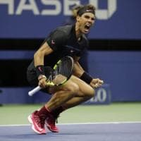 Tennis, Us Open: Del Potro resiste un set, in finale va Nadal
