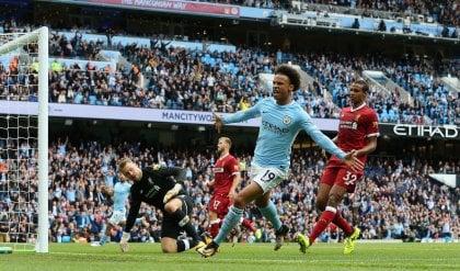 Inghilterra, il City affonda il Liverpool: aggancio allo United. Vincono Chelsea, Tottenham e Arsenal