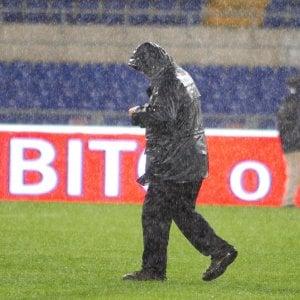 Maltempo a Roma, Lazio-Milan si gioca ma slitta alle 16