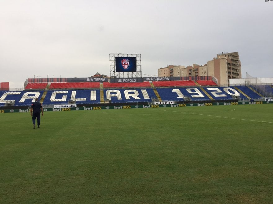 Cagliari, tolti i veli al nuovo stadio: ecco la Sardegna Arena