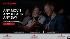 """Moviepass: """"La nostra app per abbonarsi al cinema ha già 300 mila iscritti"""""""